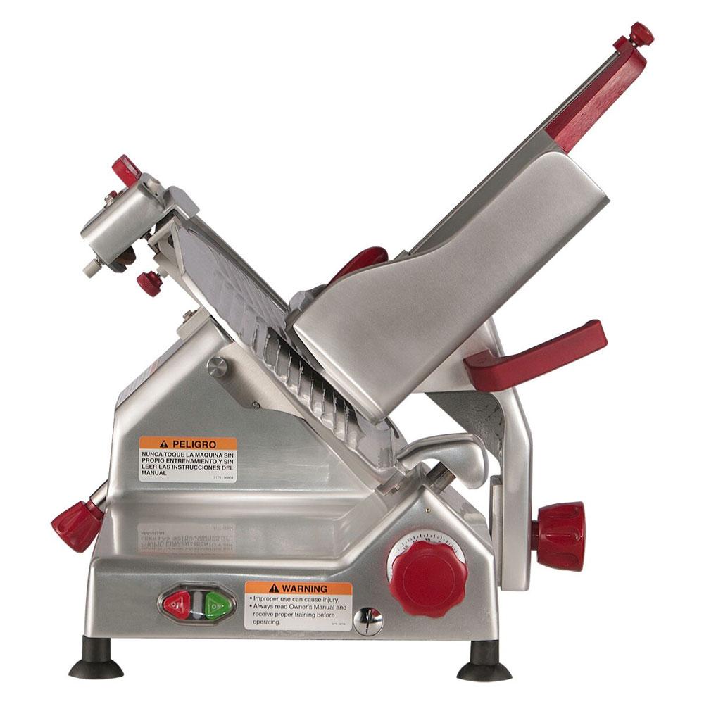 "Berkel 827A-PLUS 12"" Round Manual Slicer w/ Angled Gravity Feed & Sharpener"