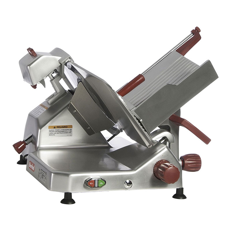 Berkel 829A-PLUS 14-in Round Manual Slicer w/ Angled Gravity Feed & Gauge Plate Interlock