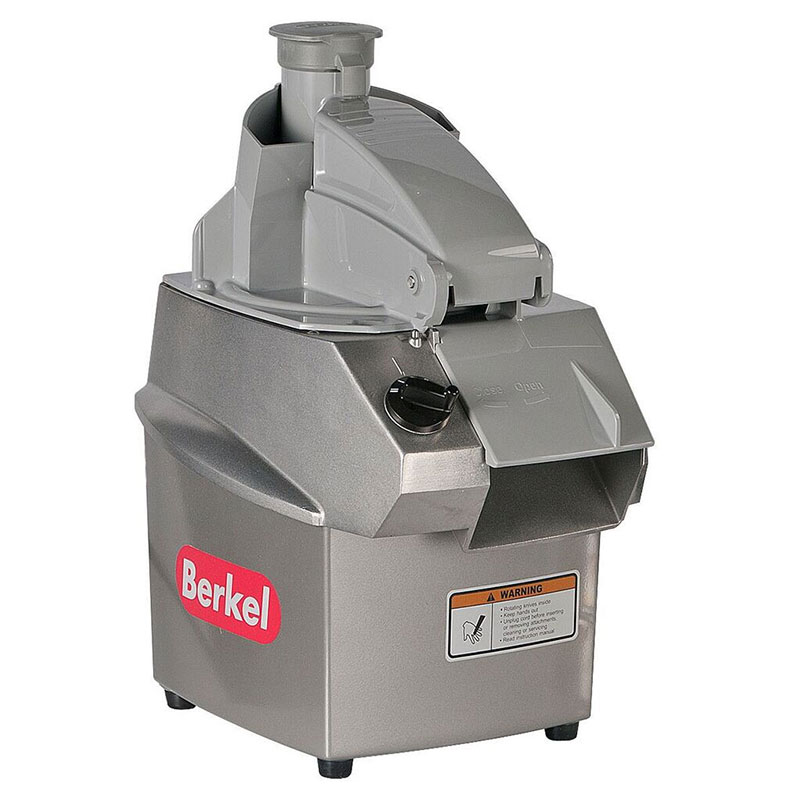 "Berkel C32/2 Food Processor w/ Continuous Feed, Shredder & Slicing Plate, 6"" Cord"