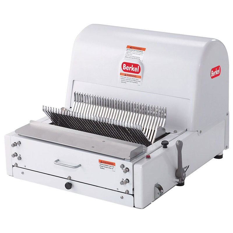 Berkel MB-7/16 Bread Slicer, 7/16-in Slice Thickness, Painted White