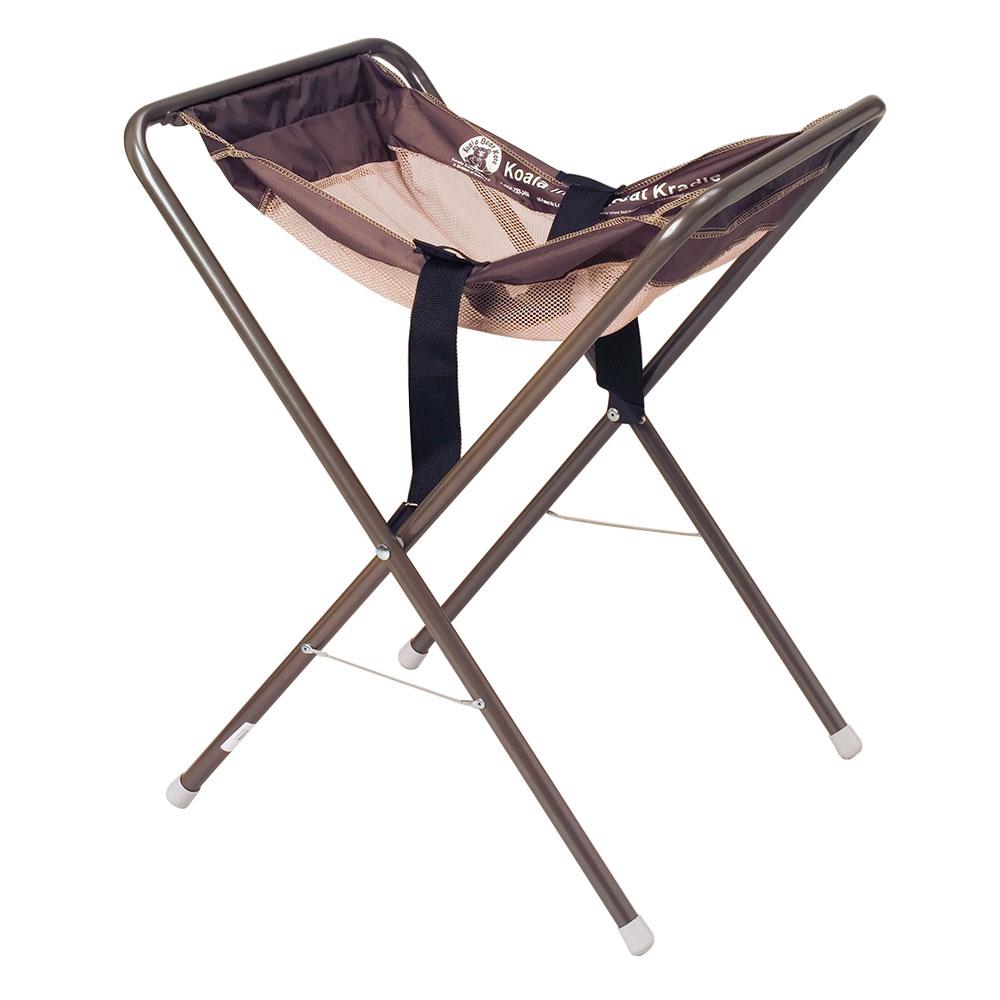 "Koala Kare KB115-09 30"" Folding Infant Seat Carrier w/ Safety Strap - Steel, Brown"