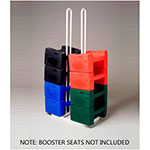 Koala Kare KB119-LG Booster Buddy Stand for (25) Booster Seats - Metal, White