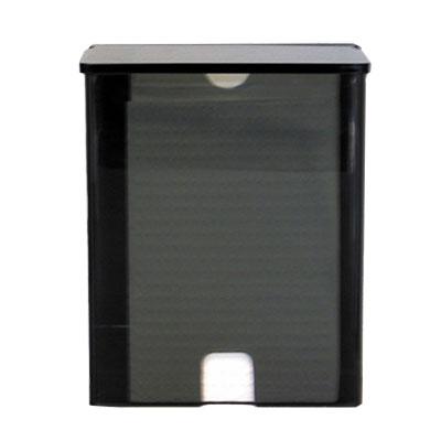 Koala Kare KB134-PLLD Wall-Mounted Sanitary Liner Dispenser w/ 20-Liner Capacity - Plastic, Black