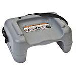 Koala Kare KB855-01S Dual-Height Booster Seat w/ Safety Strap - Plastic, Dark Gray