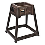 "Koala Kare KB866-09 27"" High Chair/Infant Seat Cradle w/ Waist Strap - Plastic, Brown"