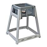 "Koala Kare KB877-01 27"" High Chair/Infant Seat Cradle w/ Waist Strap - Plastic, Gray"