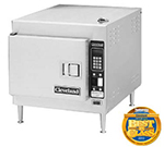 Cleveland 21CET8 Electric Countertop Steamer w/ (3) Full Size Pan Capacity, 240v/3ph