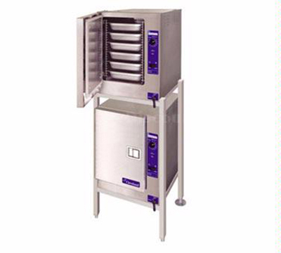 Cleveland (2)22CET6.1 2083 Boiler Free Double Stacked Convection Steamer w/ 6-Pans Per Compartment,  208/3V