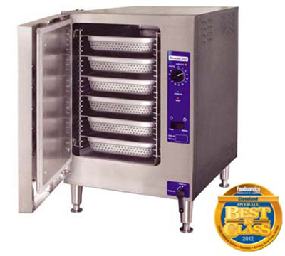 Cleveland 22CET6.1 2081 Countertop Convection Steamer w/ 1-Compartment & 6-Pan Capacity, 12-kW 208/1 V