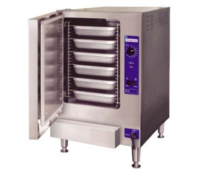 Cleveland 22CGT6.1 Gas Countertop Steamer w/ (6) Full Size Pan Capacity, NG