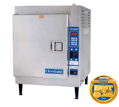 Cleveland 21CET16 Countertop Convection Steamer - 5-Pan Capacity, Mechanical, 208/3v