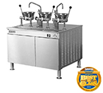 Cleveland 36EMK1124 2403 Kettle Cabinet Assembly w/ (2) 80-oz Oyster Kettles, 36-in Base, 240/3 V