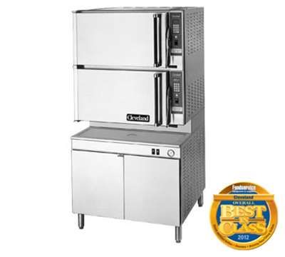 Cleveland 36CEM1648 2403 2-Compartment Convection Steamer w/ 8-Pan Capacity, 36-in Base, 240/3 V