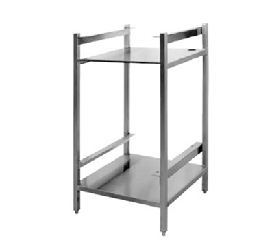 Cleveland ES2469 Open Sliding Shelf Base Stacking Stand w/ Pan Racks, Adjustable Legs