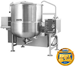 Cleveland HA-MKGL-80-T NG 80-Gallon Tilting Mixer Kettle w/ Horizontal Agitator, NG