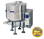 Cleveland KGL-100 LP 100-Gallon Stationary Kettle w/ Electronic Ignition, 2/3 Steam Jacket, LP