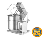 Cleveland MKET-12-T 2403 12-Gallon Tabletop Tilt Kettle Mixer w/ Variable Speed, 2/3 Steam, 120/240 V