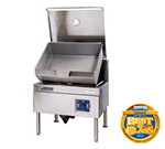 Cleveland SGM40TR NG 40-Gallon Tilt Skillet w/ Enclosed Cabinet Base, Adjustable Feet, NG