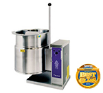 Cleveland KET-6-T 2403 6-gal Table Top Tilting Kettle, 2/3-Steam Jacket Design, Splash Proof, 240/3 V