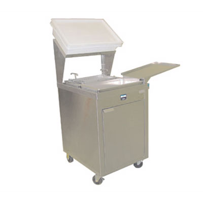 Giles BBT Breading & Batter Table - Manual Shifter, Stainless Cabinet