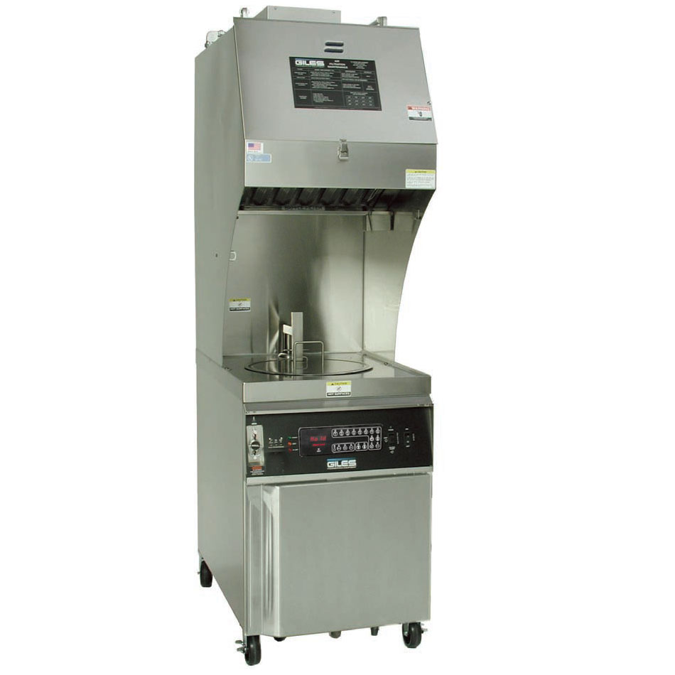 Giles GEF400-VH Electric Fryer - (1) 45-lb Vat, Floor Model, 240v/3ph