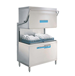 Meiko DV200.22P 208/230/3 High Temp Door-Type Dishwasher - (2) 2x20 Racks, 108 Racks/hr Capacity