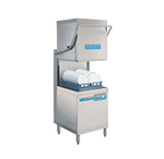 Meiko DV80.2P 208-230/60/1 High Temp Door-Type Dishwasher - 61 Racks/hr Capacity, 208-230/60/1