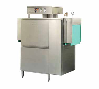 Meiko K44ET230 Conveyor Dishwasher, 44-in Tank & 26-in Clearance, 223-Racks/Hr, 230/3 V