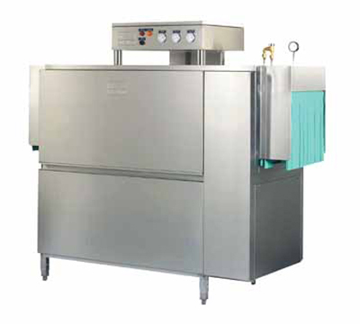 Meiko K64E208 Double Tank Conveyor Dishwasher For 277-Racks/Hr, 18-in Clearance, 208/3 V