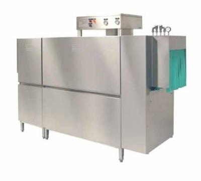 Meiko K86E208 64-in Double Tank Rack Conveyor Dishwasher For 284 Racks, 18-in Clear, 208/3