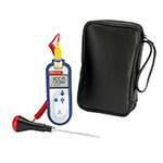 Comark C28/P3 Type K Waterproof Thermocouple Probe, PK24M Probe & AC135 Case