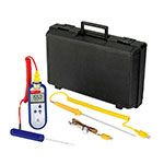 Comark C28/P6 Type K Waterproof Thermocouple Probe, PK19M Probe & AC135 Case