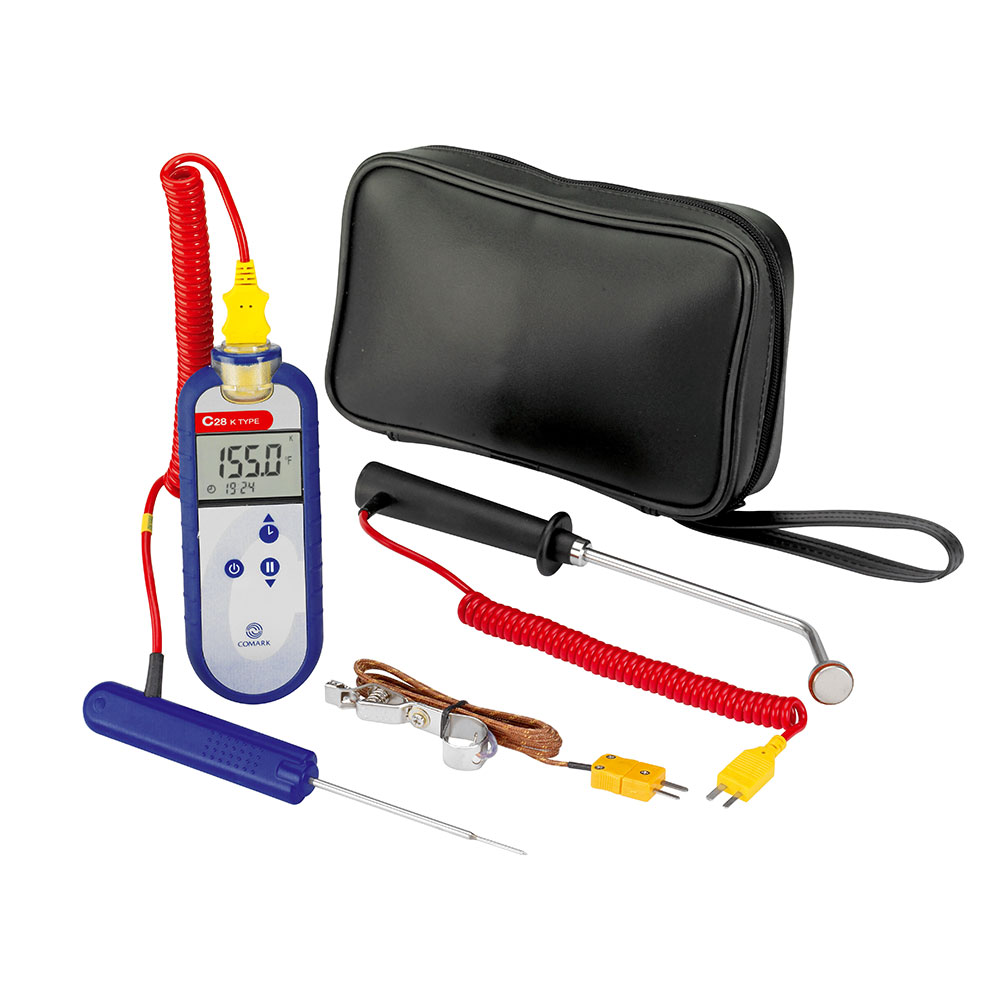 Comark C28/P8 Type K Digital Waterproof Thermocouple Probe, ATT29 Air/Oven