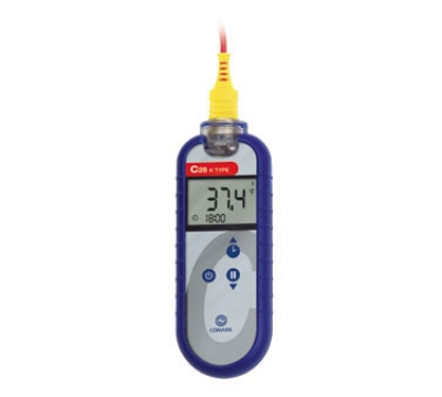 Comark C28 Hand Held Digital Type K Waterproof Thermocouple Thermometer