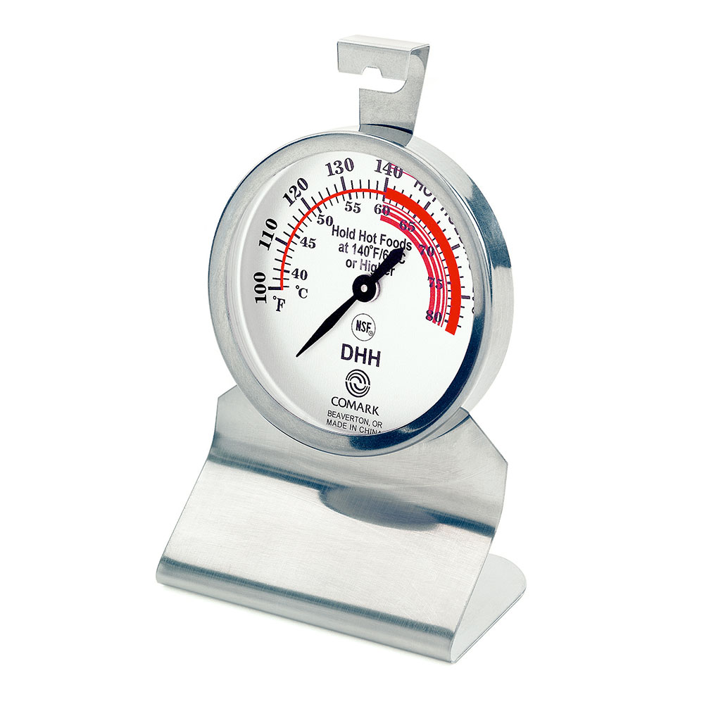 Comark DHH Dial Hot Holding Thermometer w/ Temperature Range up to 180F