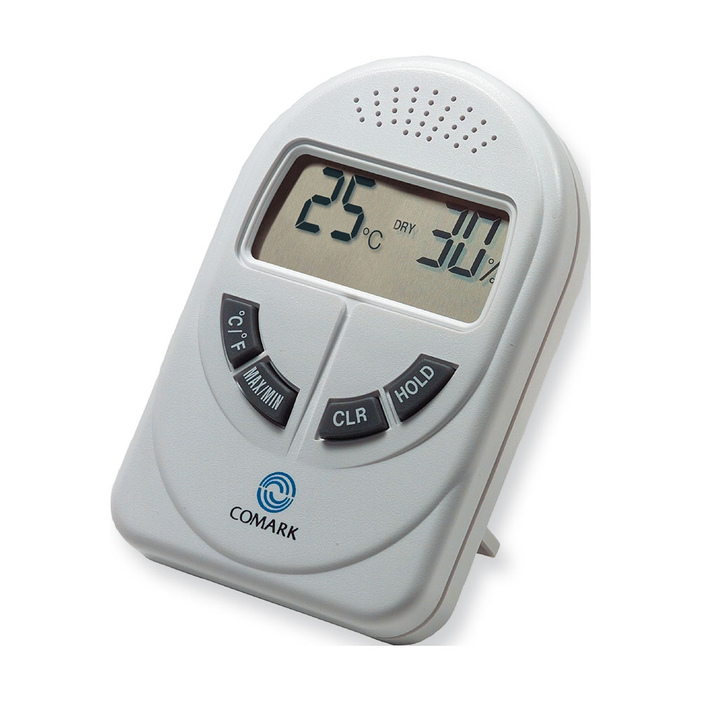 Comark DTH880 Digital Temperature & Humidity Tester w/ Comfort Zone Indication