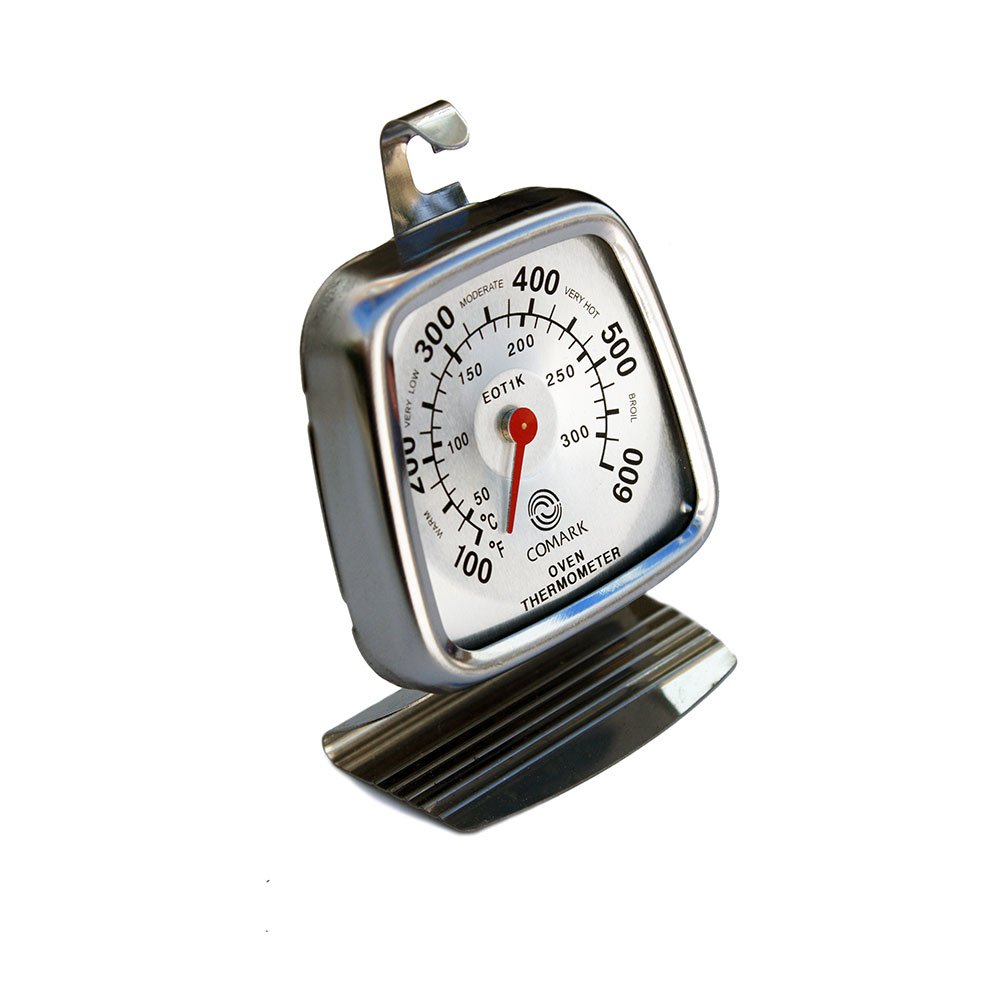 Comark EOT1K Economy Oven Thermometer w/ Dial, Stainless