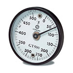 "Comark GT500K Grill Thermometer, 2""Dial, Temperature Range 0 - 500 F"