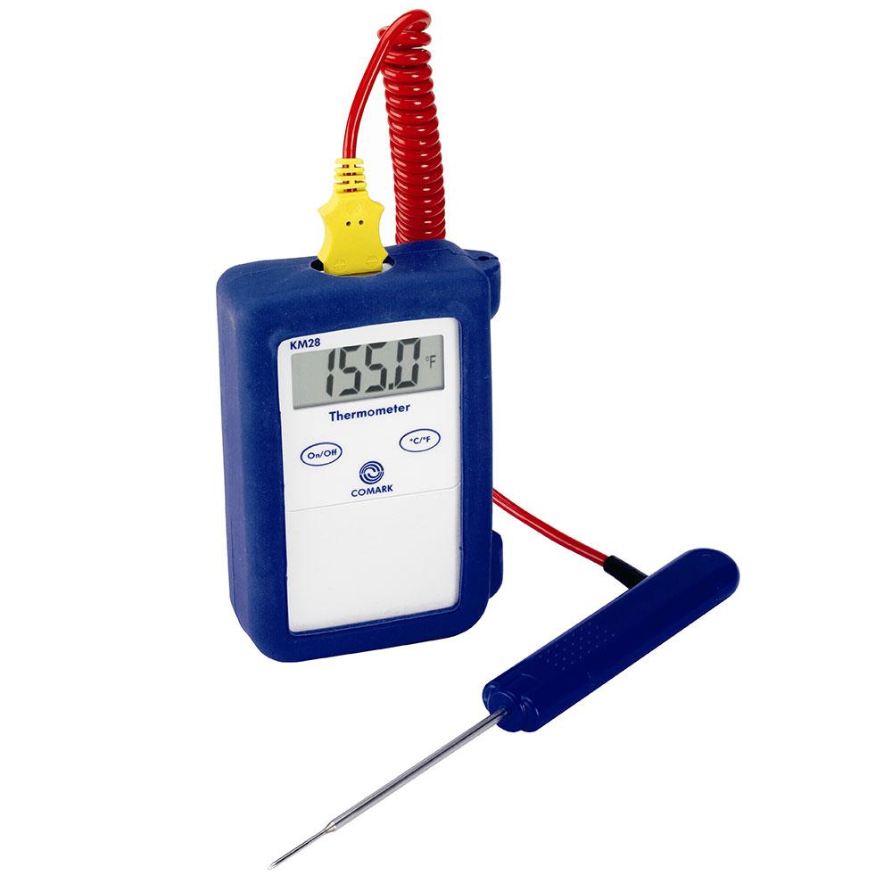 Comark KM28KIT Thermocouple Temperature Tester, Digital, Temp Range -40 to 1000