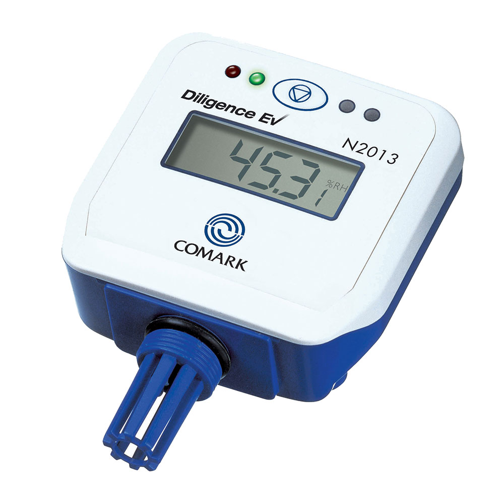 Comark N2013 Thermistor Data Logger w/ LCD