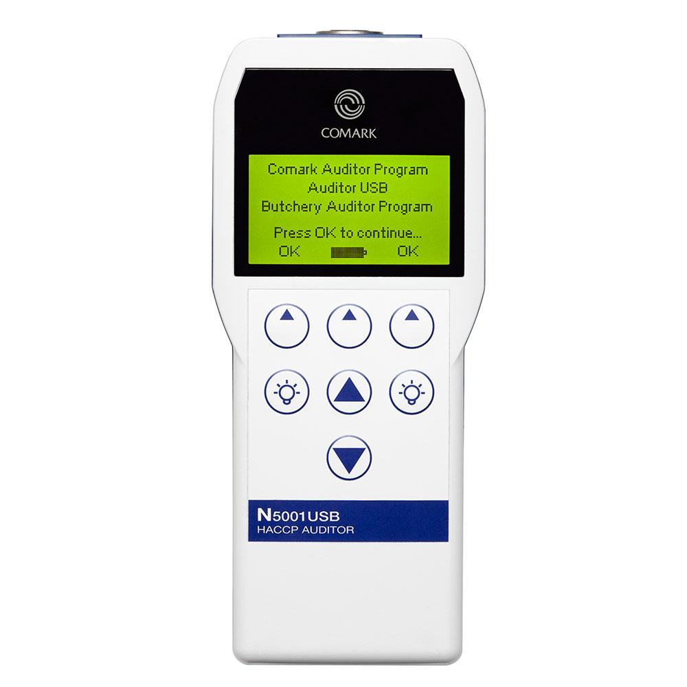 Comark N5001KITUSB HACCP Auditor Kit w/ N5001USB, CRS/6, PK19L & MC28