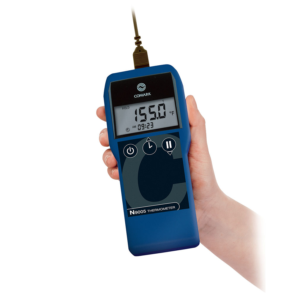 Comark N9005 Waterproof Industrial Thermometer w/ High Impact Case