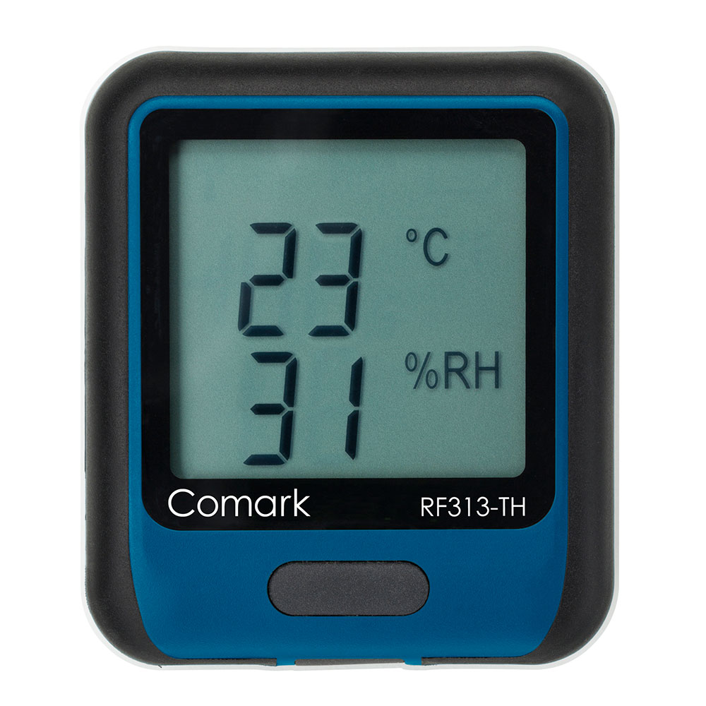 Comark RF313-TH Temperature/Humididty Data Logger - -4 to 140 F, WiFi Connectivity