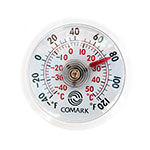 "Comark UTL140 2"" Dial Indoor Outdoor Thermometer w/ Adhesive or Magnet Mount"