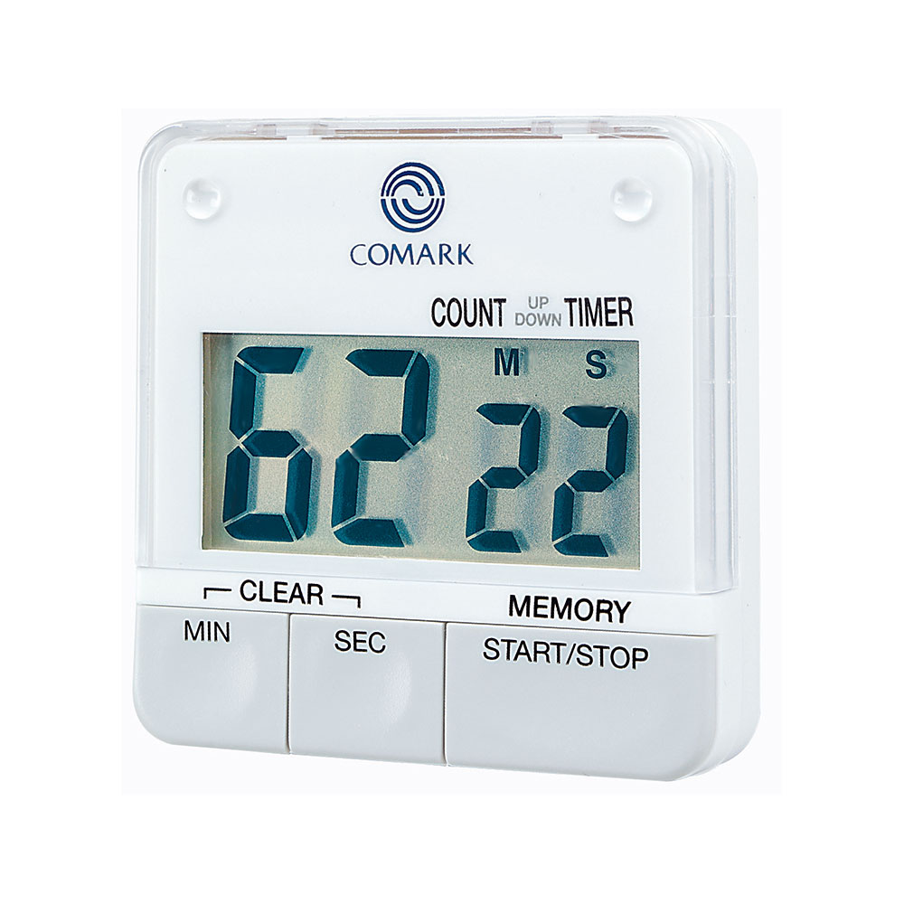 Comark UTL264 Digital Big Digit Timer w/ Built-In Memory, Stand & Magnetic Clip