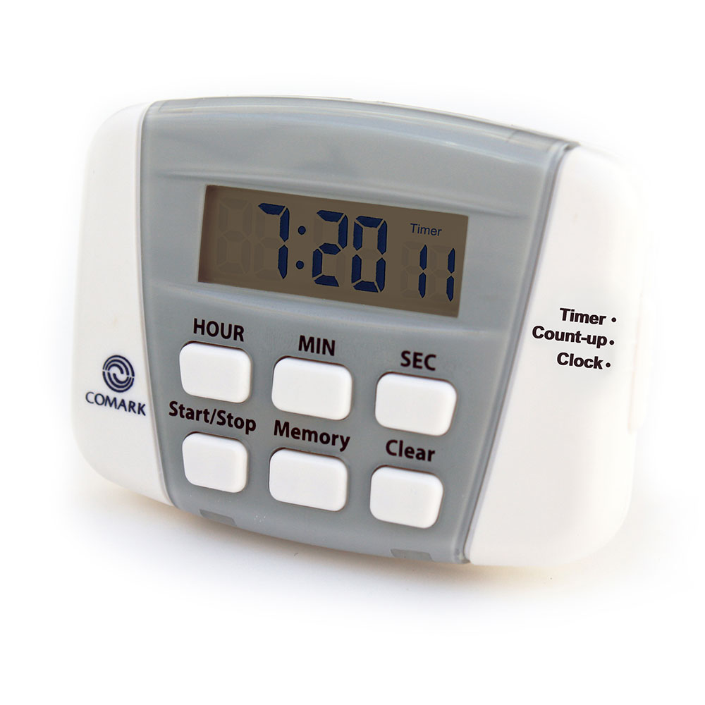 Comark UTL882 Digital Timer w/ 24-Countdown & Count Up Capacity, Battery
