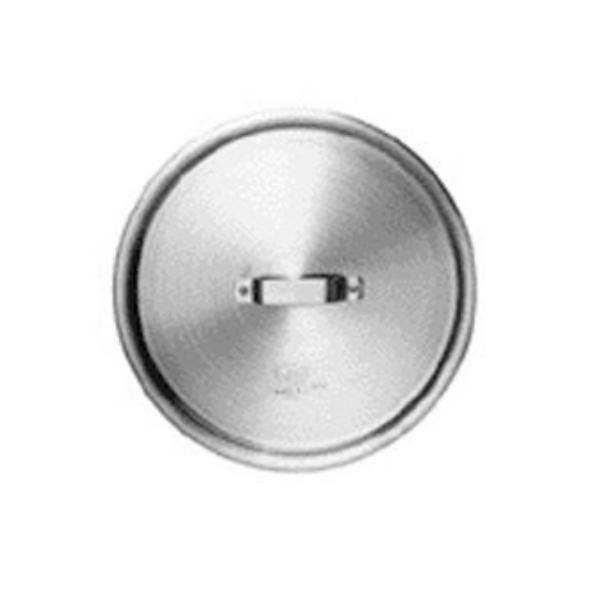 Johnson-Rose 65012 Cover, 11-13/16 in dia., Flat w/ Handle, 3004 Aluminum Alloy