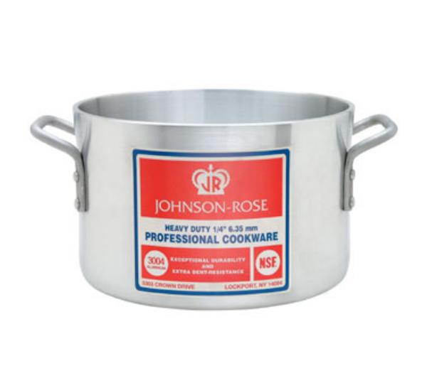 Johnson-Rose 66414 Sauce Pot, 14 qt, w/o Cover, Heavy Weight, Aluminum