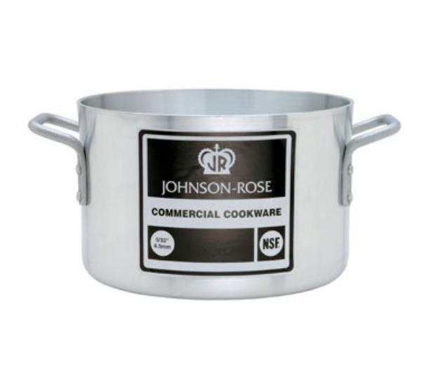 Johnson-rose 6726 Sauce Pot, 26 qt, 4 Gauge Aluminum, Commercial Duty