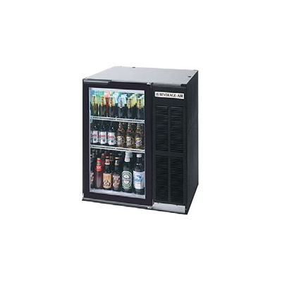 Beverage-Air BB36G-1-B-27 36 (1) Section Bar Refrigerator...